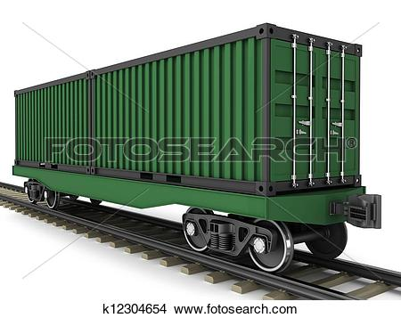 Drawings of Railway wagon k12304654.