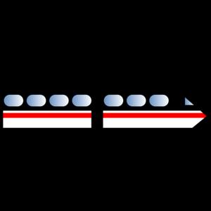 Railbus PNG Clipart.