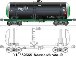 Rail car Clip Art Vector Graphics. 1,585 rail car EPS clipart.