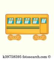 Rail car Clip Art Vector Graphics. 1,524 rail car EPS clipart.