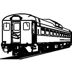 Rail car clipart.