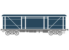 Railcar Stock Illustrations.