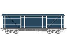 Railcar Stock Illustrations.