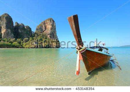 Railay Beach Stock Photos, Royalty.