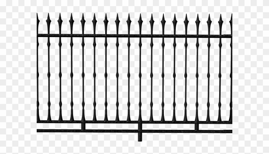 Gothic Clipart Fence.
