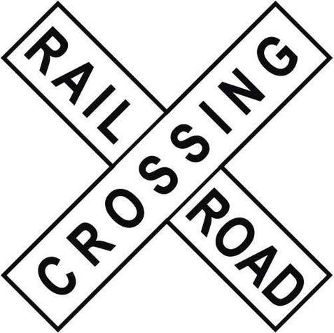 Railroad Crossing Clip Art Railroad clipart - Cli...