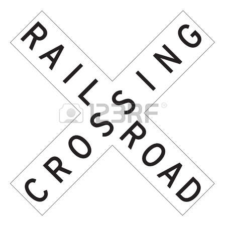 622 Railroad Crossing Stock Illustrations, Cliparts And Royalty.