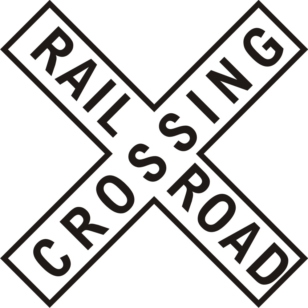 Free Railroad Crossing Sign, Download Free Clip Art, Free.