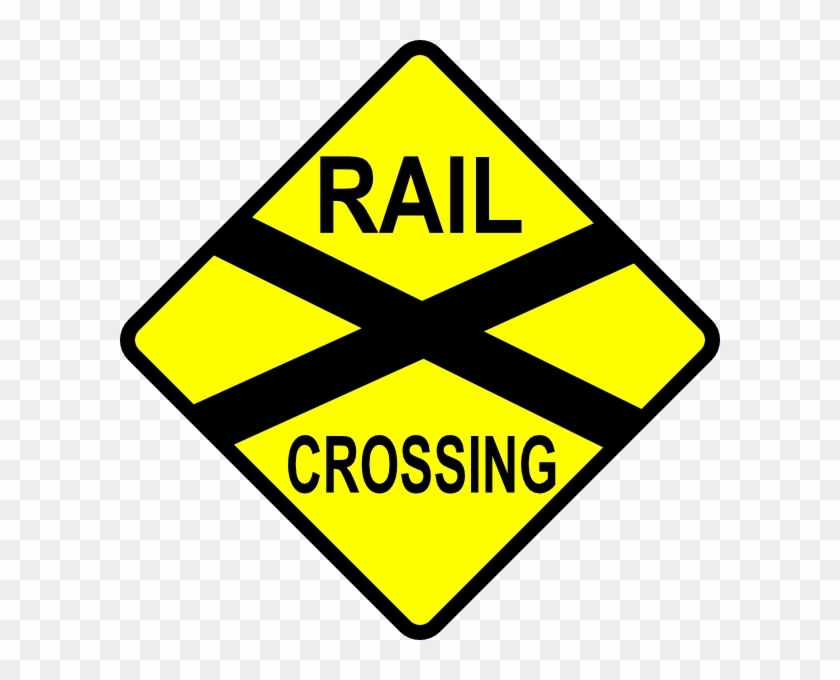 Railroad Clipart Street Sign.