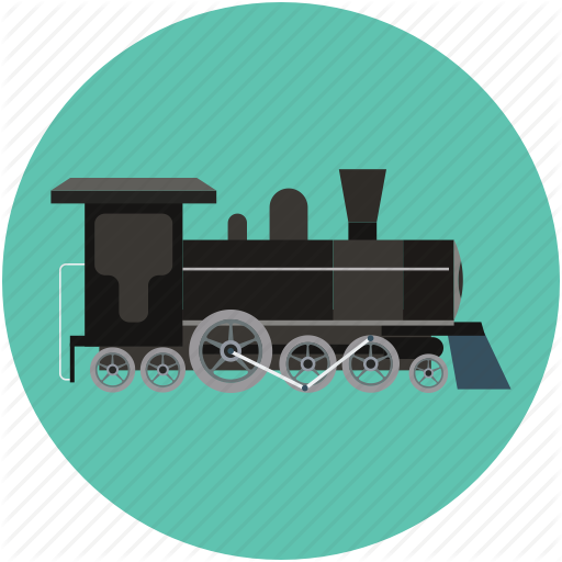 Driver, engine, generator, motor, power train icon.