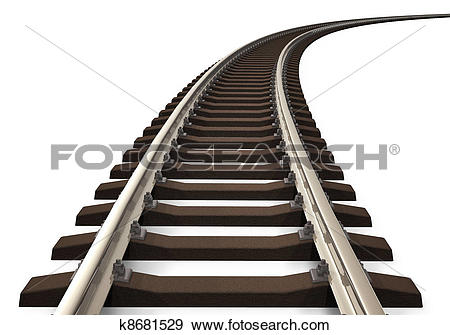 Railroad track Clip Art and Stock Illustrations. 1,817 railroad.