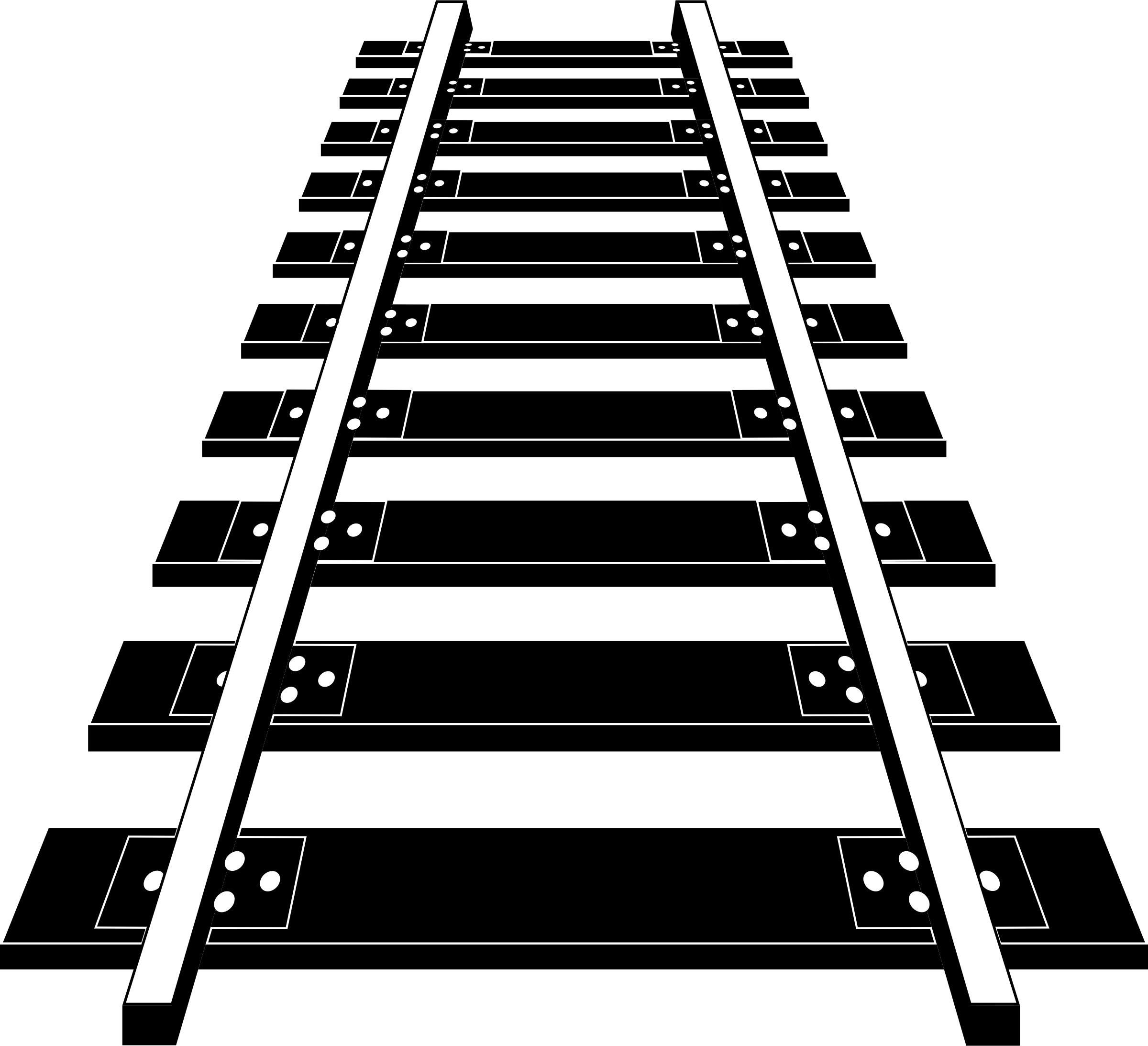 Railroad tracks clip art clipart images gallery for free.