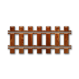 Train track clipart with transparent background.