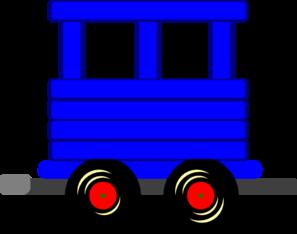 Train Carriage Clip Art.