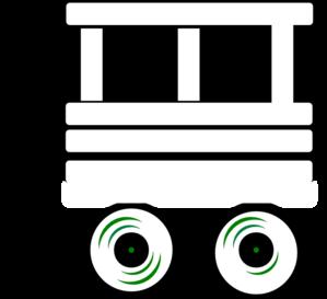 Train Carriage Clipart.