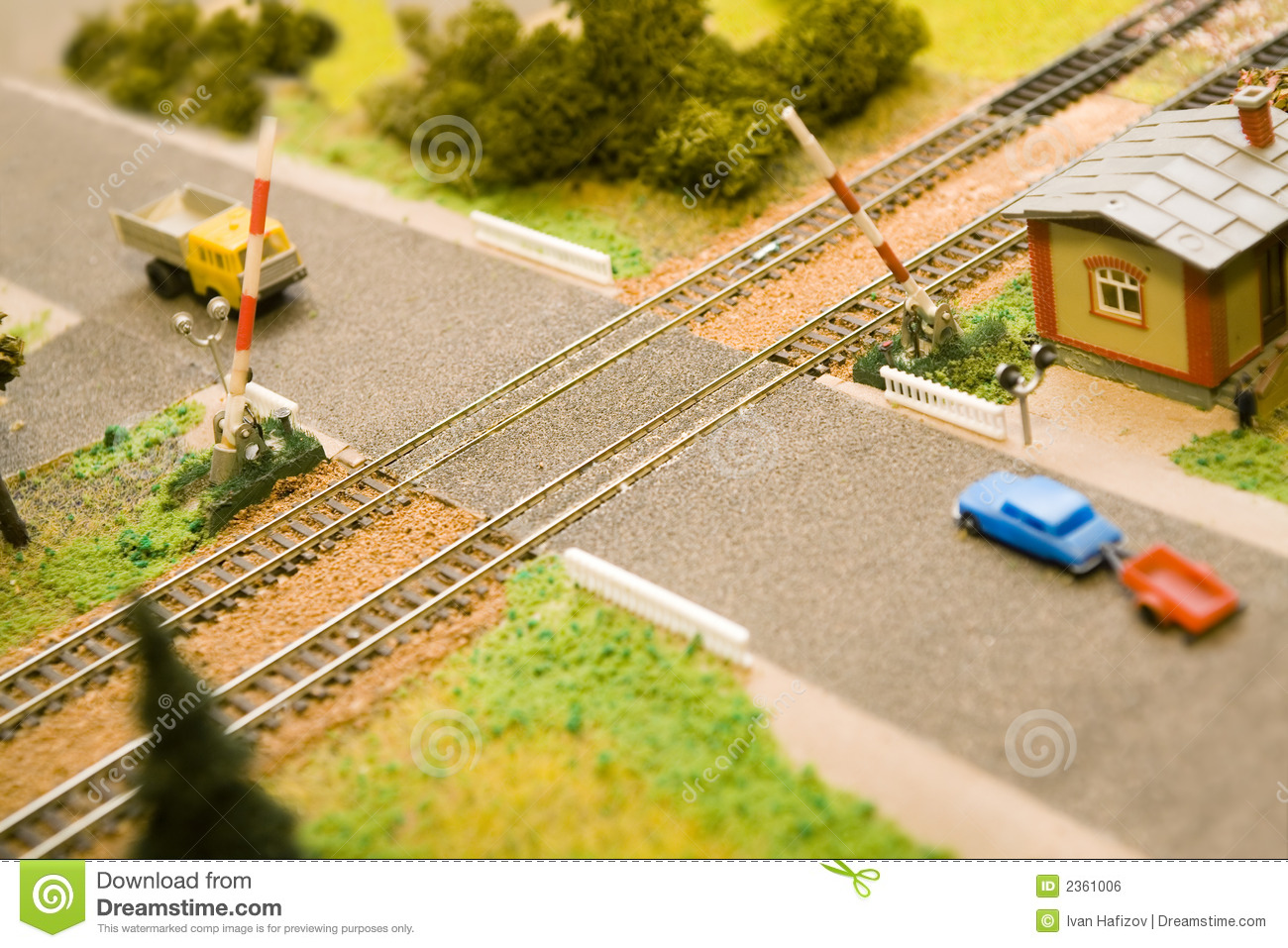 Railway Crossing Stock Photos, Images, & Pictures.