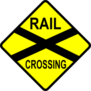 Caution Railroad Crossing Clip Art at Clker.com.