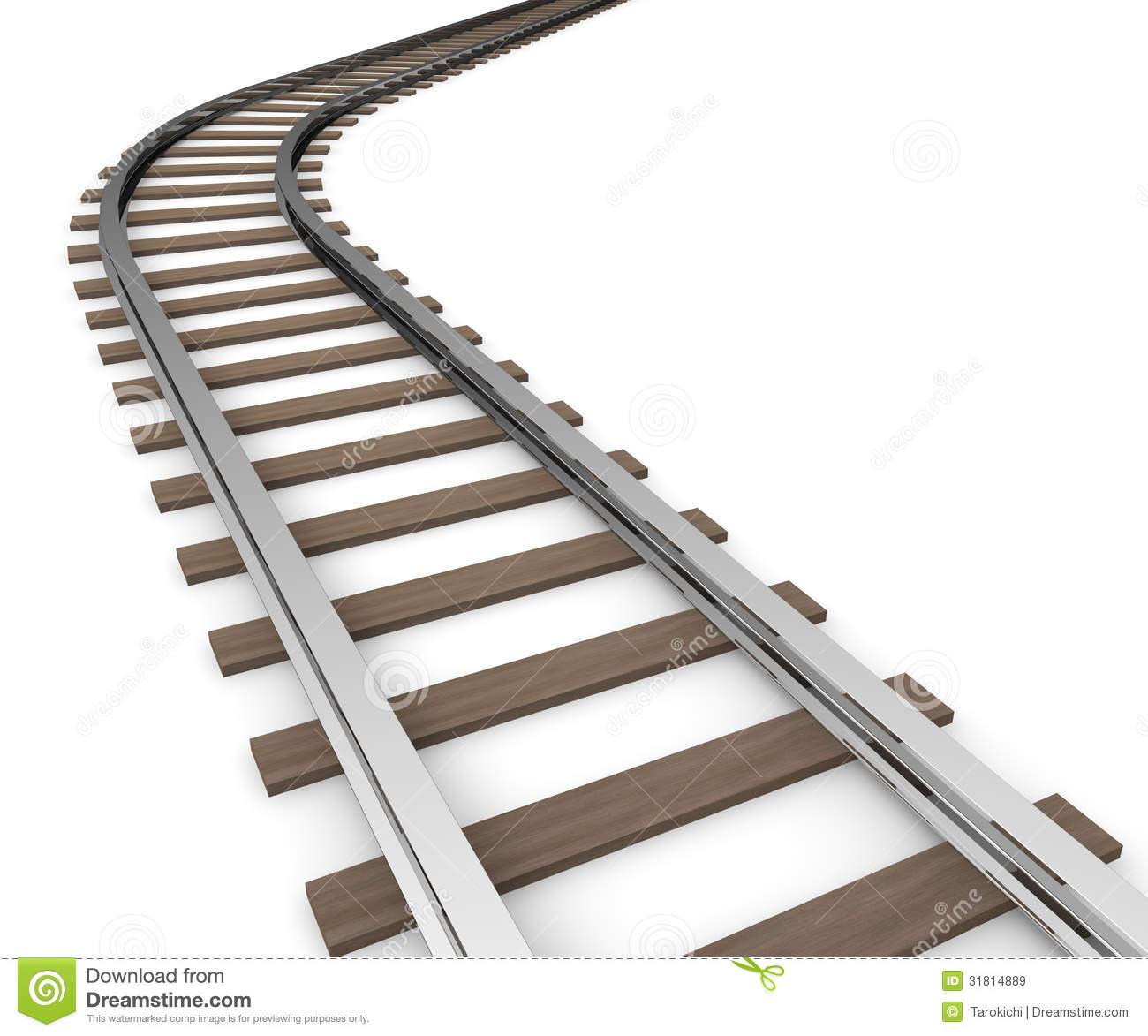 Railway Track Clip Art.