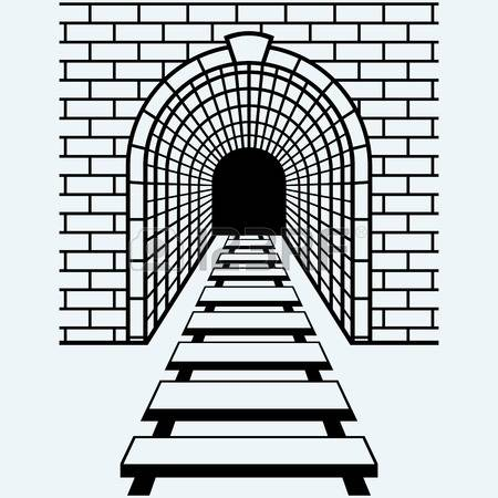 891 Railway Tunnel Stock Vector Illustration And Royalty Free.