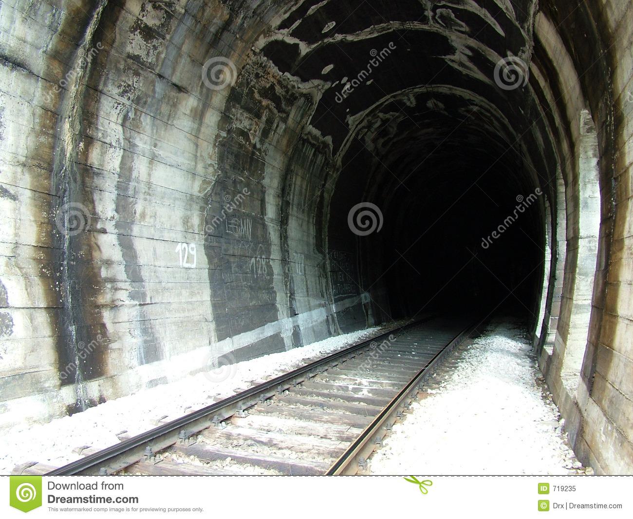 Train tunnel clipart.