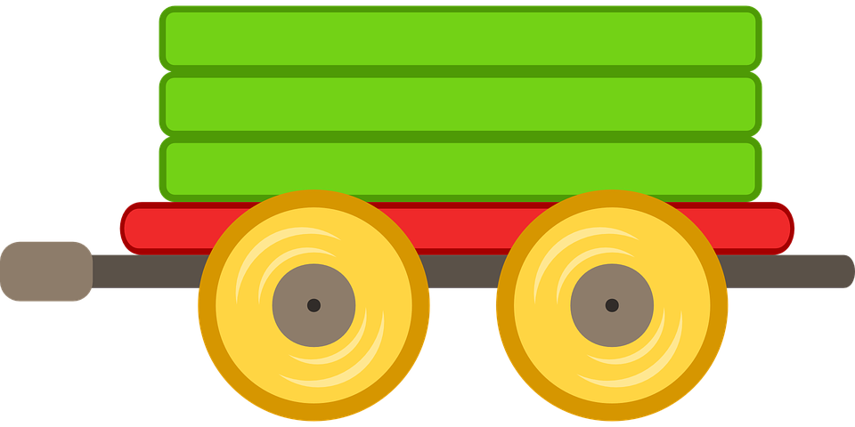 Free vector graphic: Train, Car, Toy, Green, Transport.
