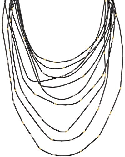 Amazon.com: Gurhan Rain Necklace with Rain Beads in Sterling.