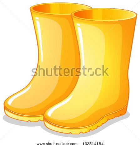 Rain Boots Clipart Stock Photos, Royalty.
