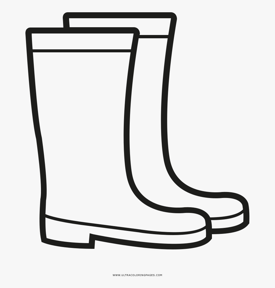 Rain Boots Coloring Page Stylish Ultra Pages And 16.