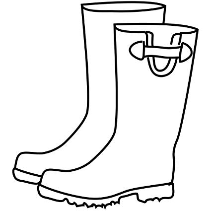 Amazon.com: Rain Boots Craft Stamp.