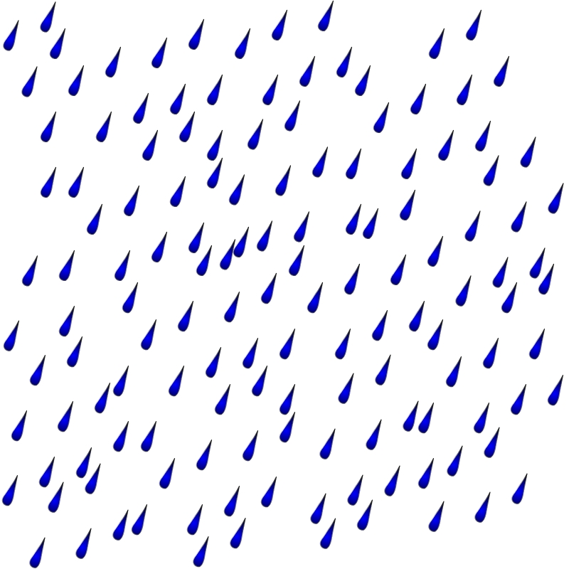 Rain clip art border.