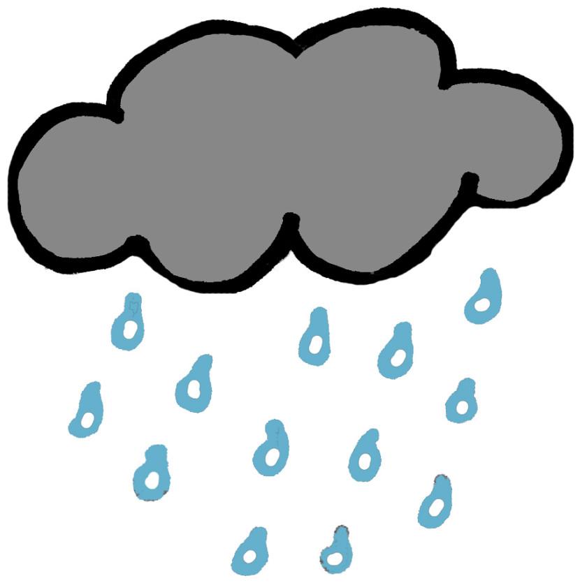 Rain clip art free free clipart images.