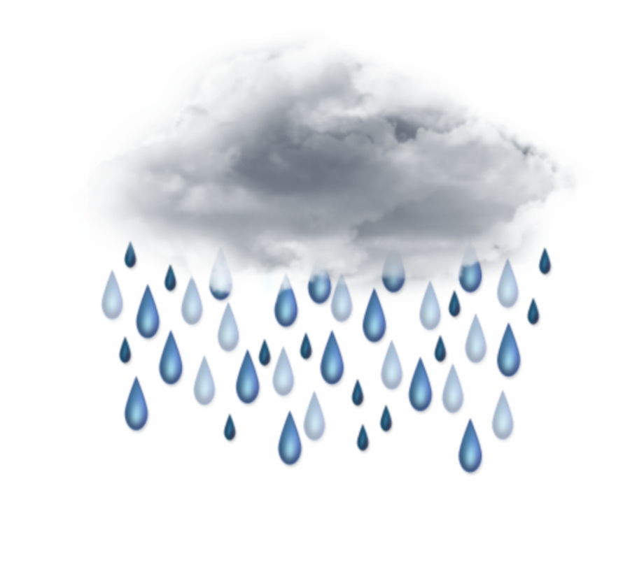 ftestickers #clipart #cloud #rain #raindrops.