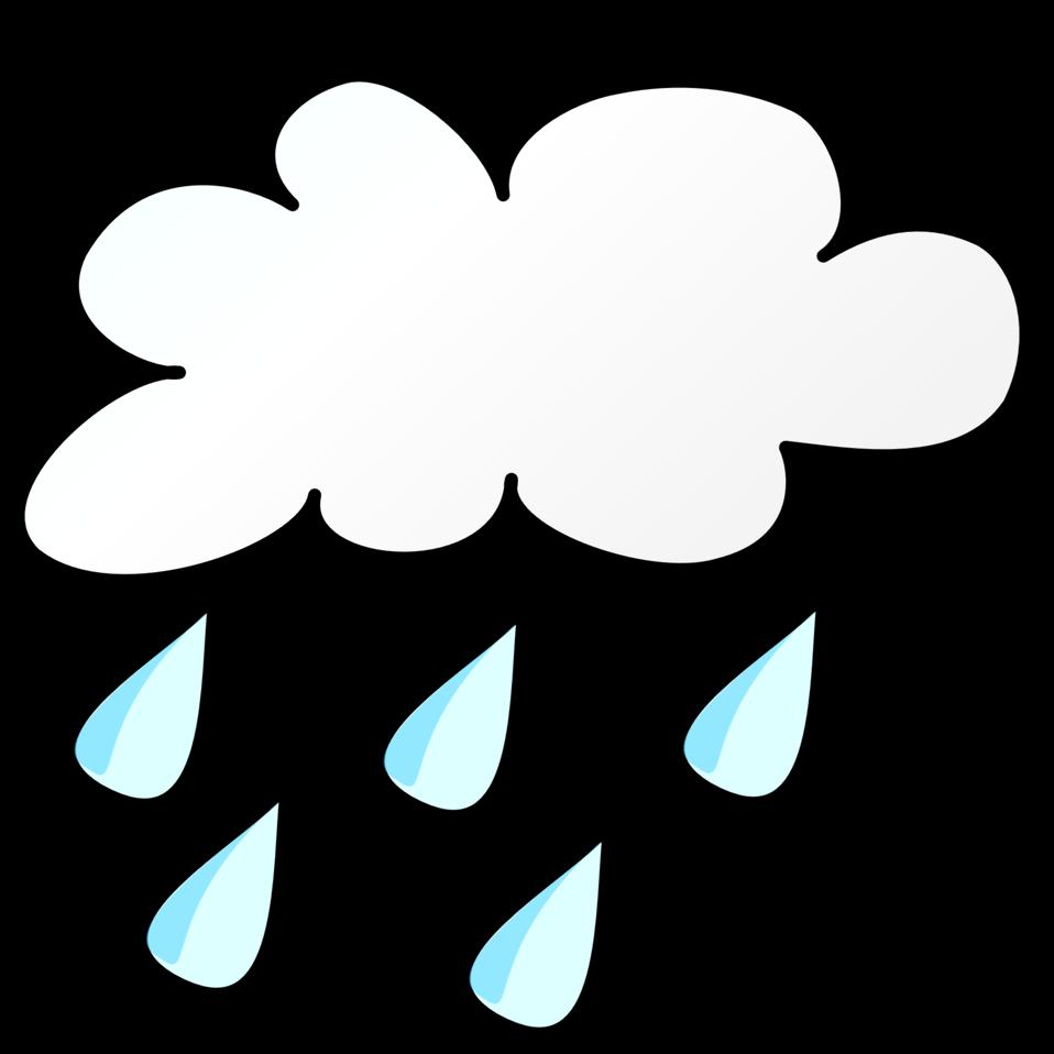 Weather forecasting Rain Clip art.