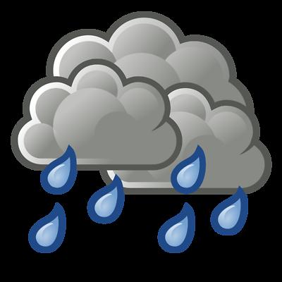 Best Rain Cloud Clipart #29458.