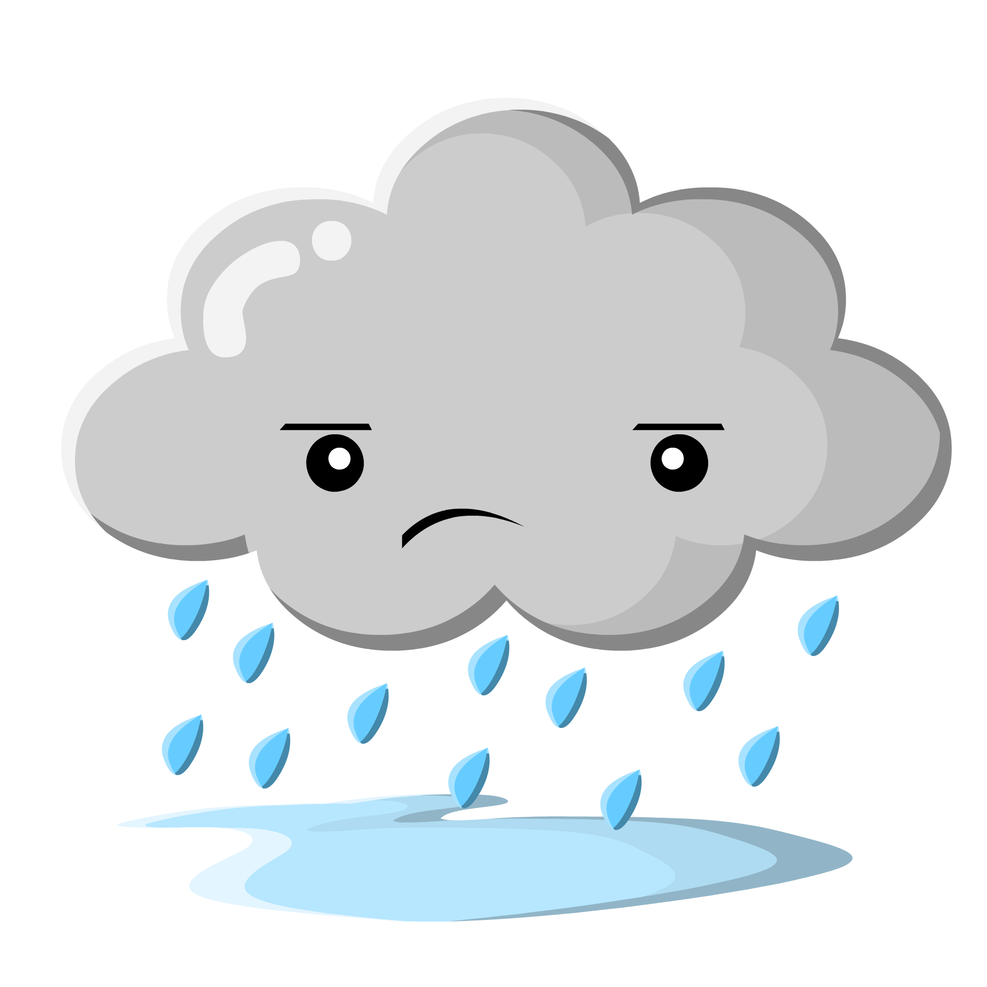 Rain cloud clipart 9.