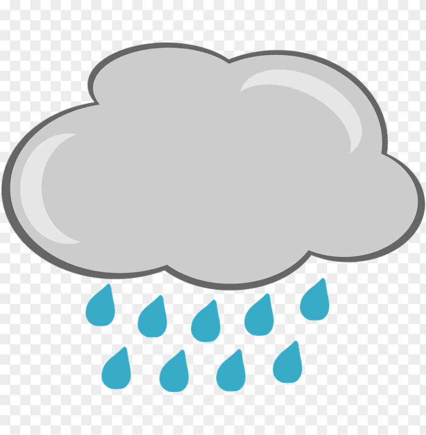 rain cloud clipart png PNG image with transparent background.