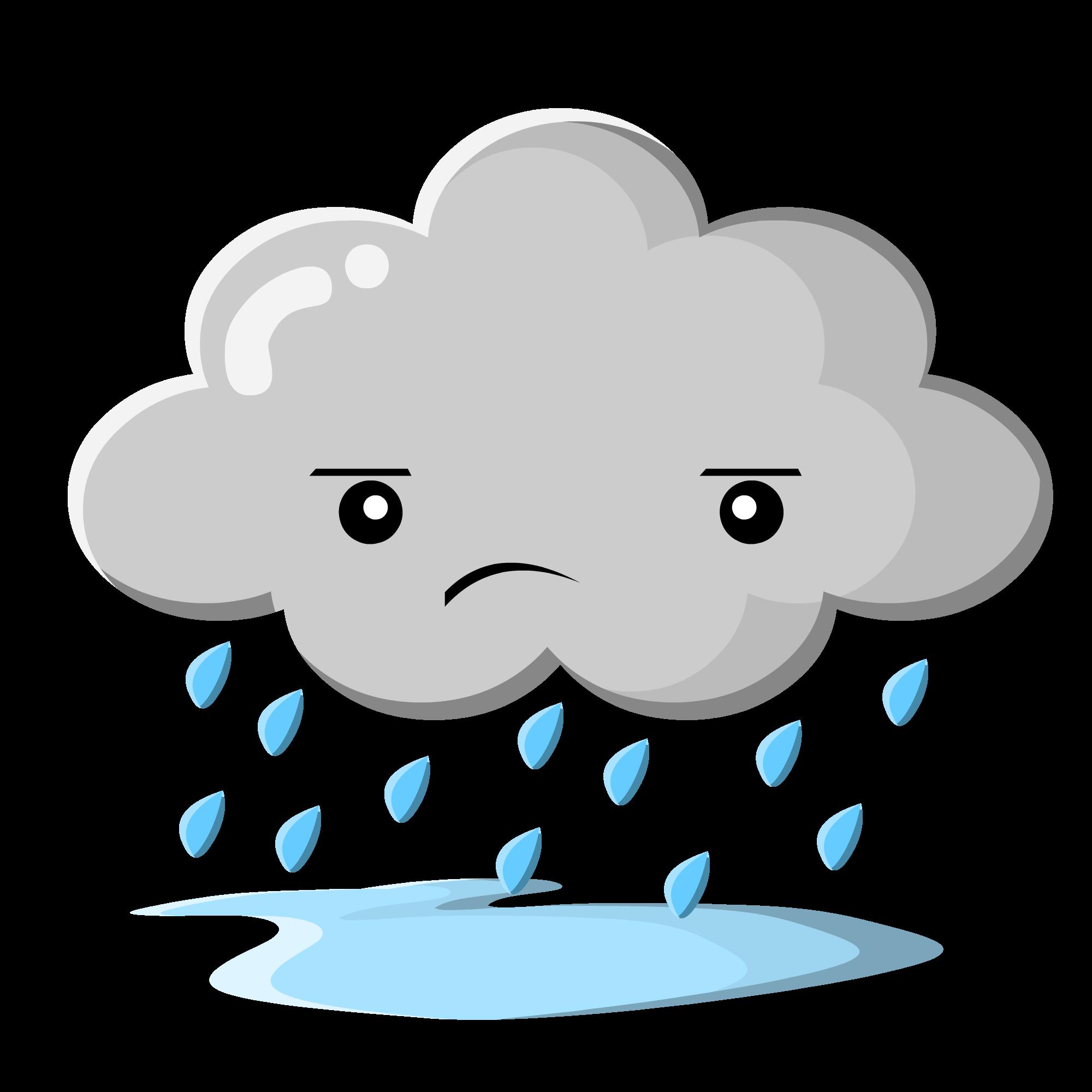 Cloud clip art rain clouds clipart free id clipart 2.