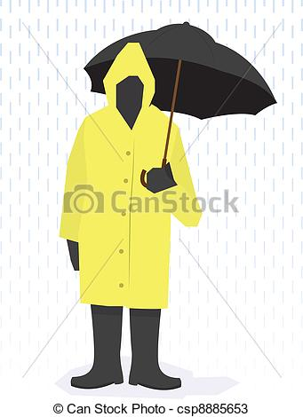 Raincoat Illustrations and Clipart. 1,082 Raincoat royalty free.