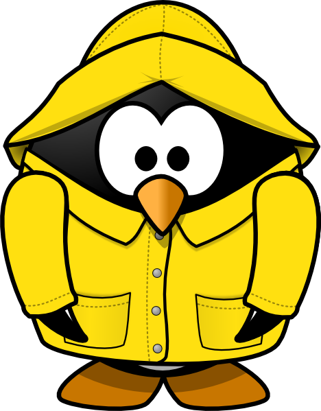 Club Penguin Rain Coat Clip Art at Clker.com.