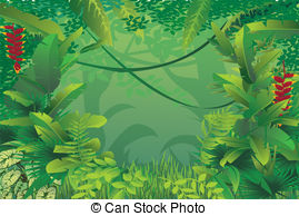 Tropical forest clipart - Clipground