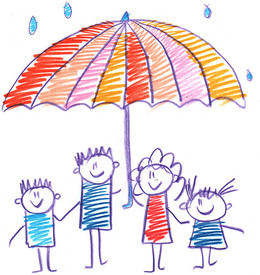 Download child protection umbrella clipart Child Rain Rain.