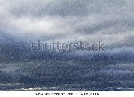Heavy Rain Stock Photos, Royalty.