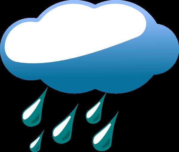 Cliparts Rain Showers.