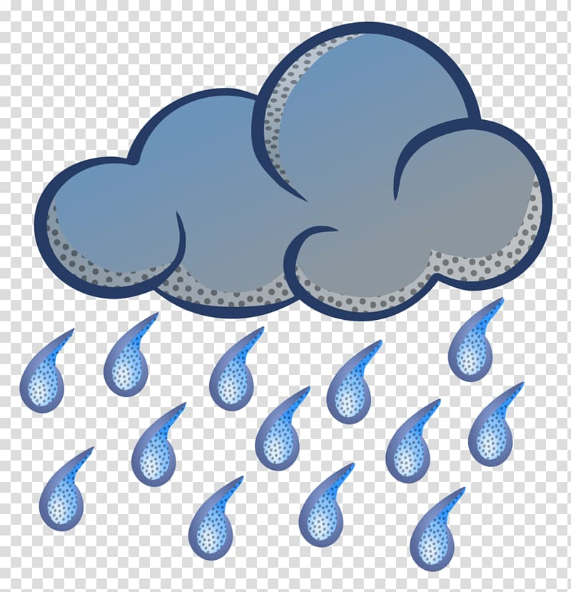 Rain Cloud Drawing , rain transparent background PNG clipart.