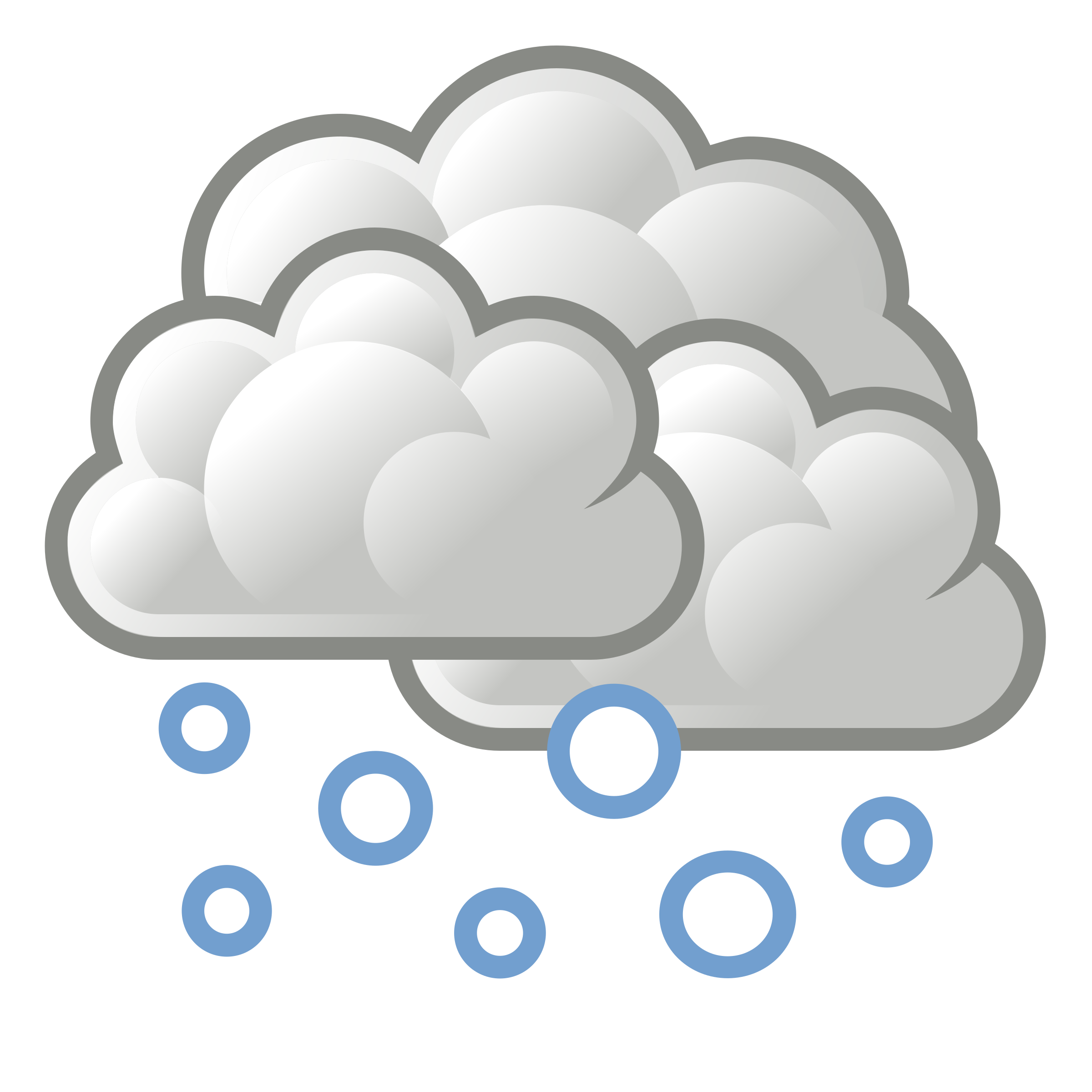 Weather forecasting Rain and snow mixed Tango Desktop.
