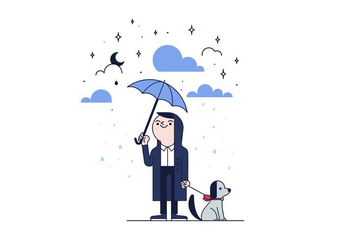 Free Rain Vector.