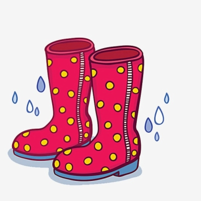 rain boots , Free clipart download.