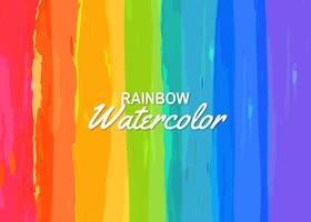 Rainbow Background Free Vector Art.