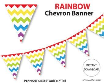 Triangle Burlap Banner Clipart.
