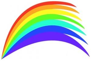 Free Rainbow Png Clip Art.